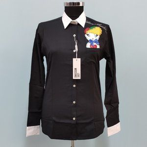 Love Moschino Black Women Shirt